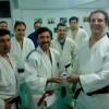 Visita de Judoka de Rosario  Juan José Monsalve a Club Huracán/Academias Juri