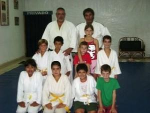 Judokas Infantiles(Judo Social)de Dojo Nam Bu Kan. / Children judoist from Nam Bu Kan Dojo (Social judo).