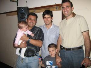 Pablo Díaz Soto , Walter Dzurovcin  y Alejandro Elissi.