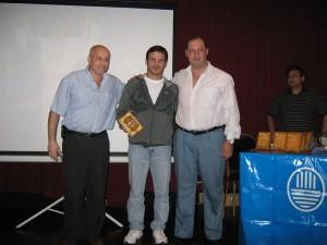 Gustavo Picate Campeón Mundial Master 2009 (EEUU)