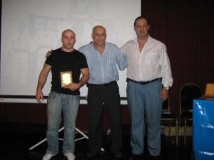 Julián García , Subcampeón Mundial Master 2009 (EEUU)