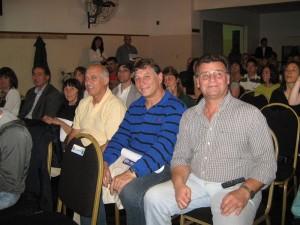 El Maestro Carlos Denegri(7º San)  y Daniel Vita (6º Dan) en la ceremonia Anual 2009 de la Federación Metropolitana de Judo.