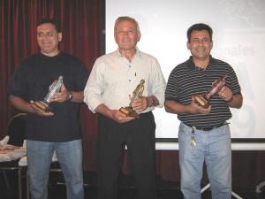 Premios Jigoro Kano: 1º  Mtro.Aníbal Janeiro(CCBA),2º Mtro.Angel Elissi(I.H), 3º Mtro.Pablo Díaz Soto (C.I)