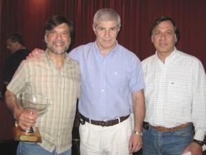 Jorge Juri , Antonio Galina y Juan Carlos Leguizamón.