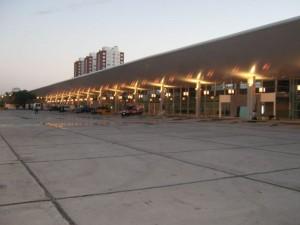 Plataformas Terminal de Micros Larga Distancia de Mar del Plata.