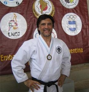 Prof. Jorge Juri a cargo de la Escuela  de Judo de Iniciación Deprtiva del EMDeR.