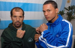 Luis Lazarte(Argentina) y Carlos Tamara (Colombia).