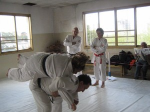 Practicando la Ju No Kata