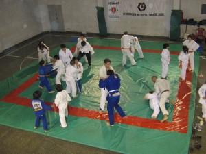 Dojo de Judo . Luz y Fuerza -Academias Juri(Calle 25 de Mayo entre calles Olazábal y San Juan-Mar del Plata)