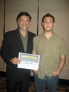 Jorge Juri y Kevin Juri en el Sheraton Hotel.