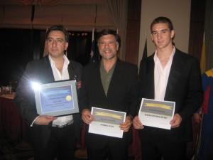 Alejando Yapuncic, Jorge Juri, Matías Etchechury.