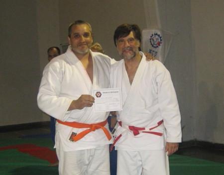 Ariel Pagliaro recibe su Diploma de Federación Metropolitana