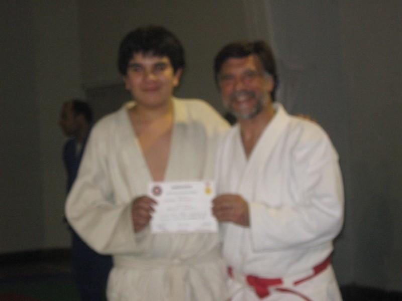 Luciano Grasselli recibe su Diploma de Federación Metropolitana