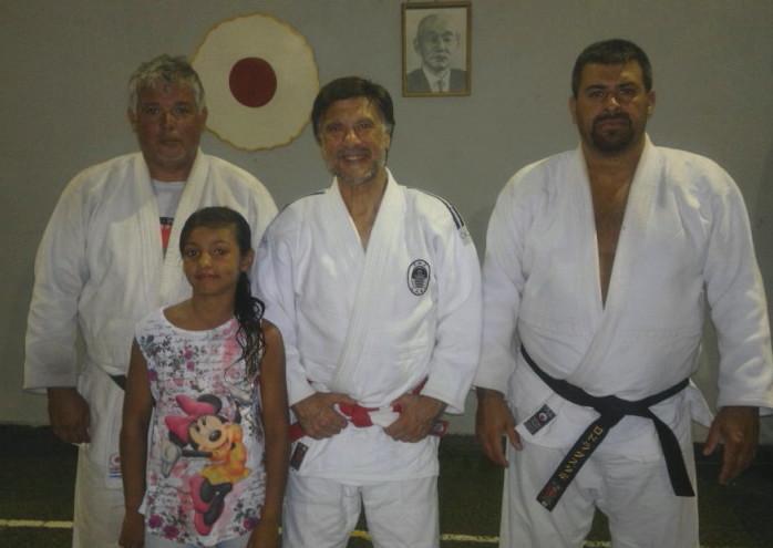 Prof. Luis Czwyl, Mtro. Jorge Juri , Prof. Gustavo Lódola y Ludmila Czwyl.