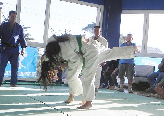 A pleno Judo.