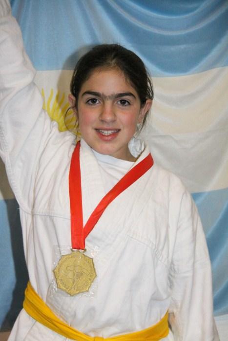 Estrella Olmos a las Finales 2012 de los Juegos Evita.