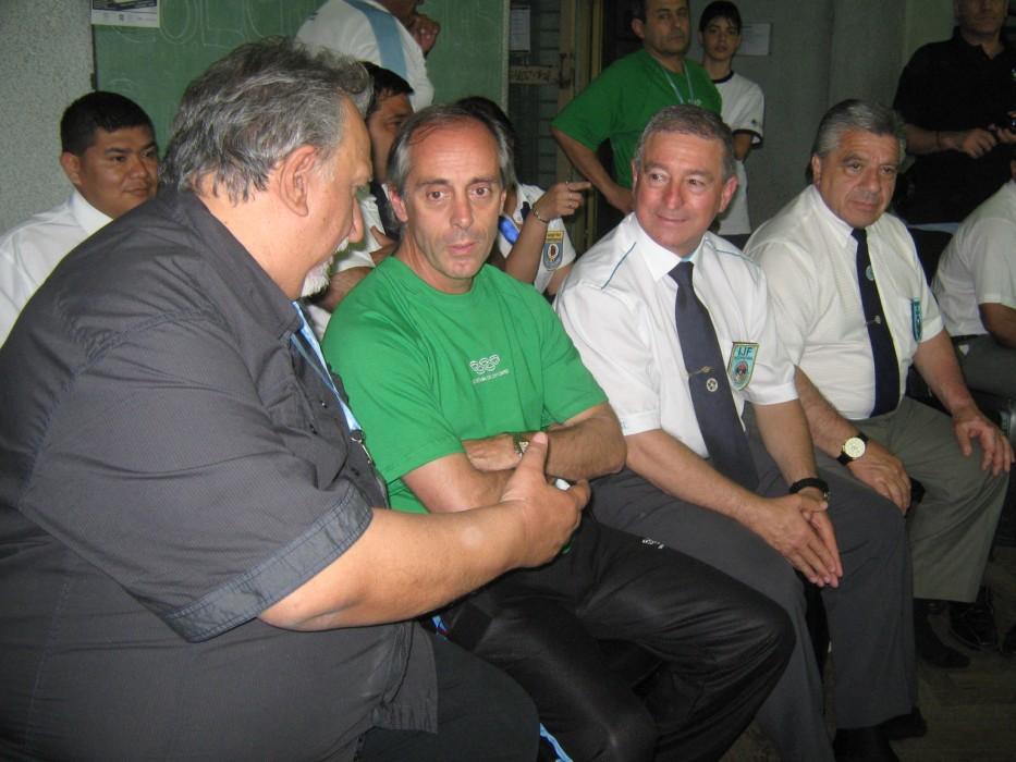 Eduardo Ordoqui , Claudio Morresi,Ovidio Garnero y Felipe Oliva.
