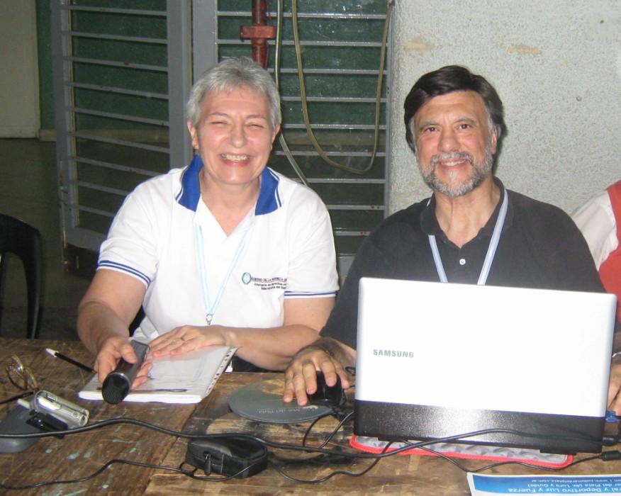 Mara Narancic y Jorge Juri