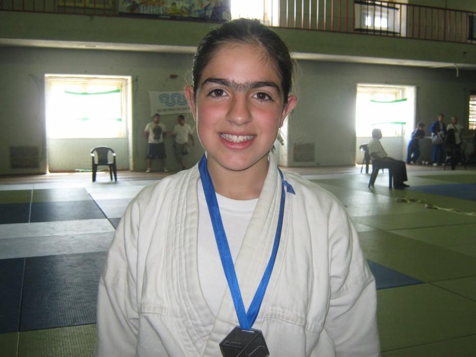 La Judoka de Necochea Estrella Olmos.