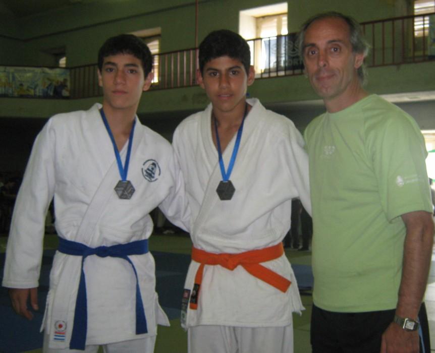 El Secretario de Deportes de la Nación Claudio Morresi durante la premiación.