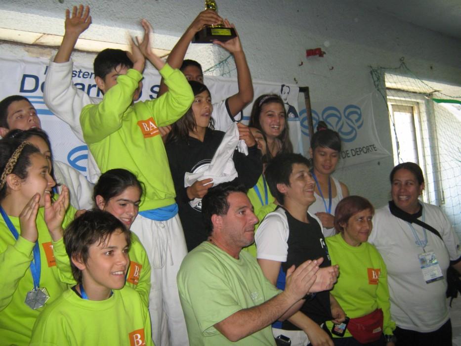 Equipo de Buenos Aires 1º en Masculinos
