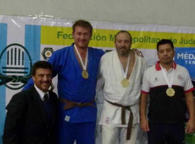 M3 y 4.Kyus81,- 90 y + 100 kg Kg Libre (Campeones en sus pesos) C.Herrera 2º,.A.Bisonni 1º y H.Gimènez (3º)