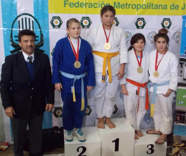 Inf.A Fem +52 kg, F.Alonso(2ª),C.Villarruel(1ª),A.Retondo y S.Parra 3ras.