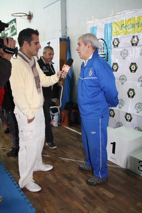 Nota al Maestro A.Gallina del Programa Fitness y Salud que se emite por Canal 2