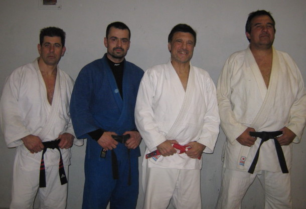 Daniel Arregui,Alejandro Lobos, Jorge Juri y Claudio Vereb.