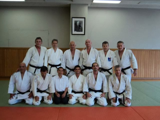 Judokas Argentinos en el Kodokan (Tokio-Japón) durante el 2º Gran Master de Asia