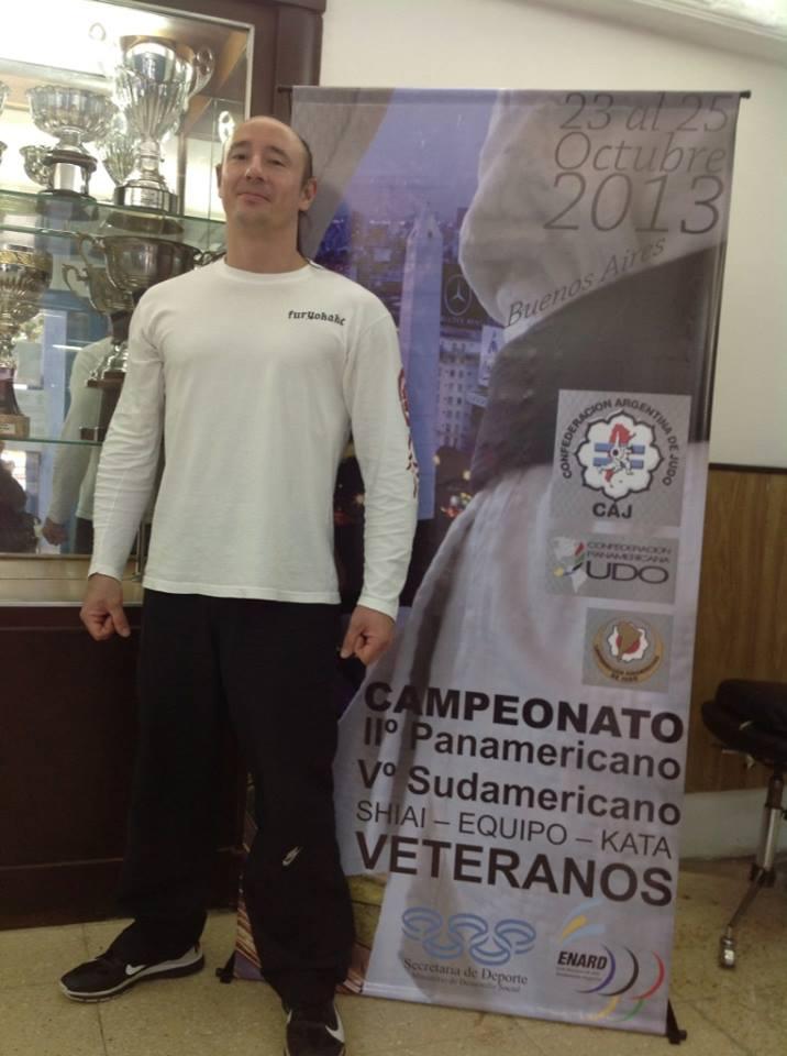 Ariel Alvarez  ,Judoka de Instituto Bushido.