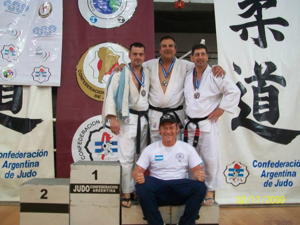 Alejandro Lobos,Claudio Vereb, Daniel Arregui y Claudio Herrera.