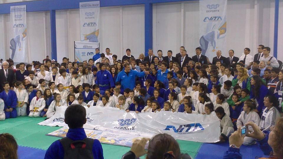 Foto de los Judokas que participaron en la jornada del día 6 de Noviembre.