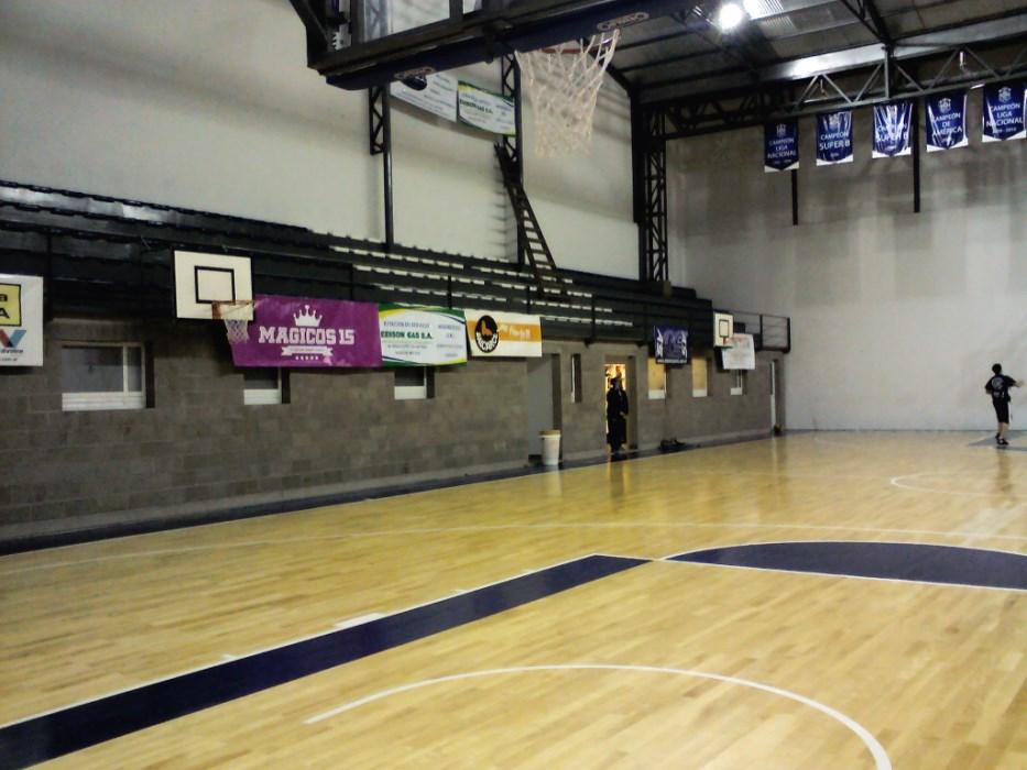 Gimnasio de C.A.Peñarol donde se realizará la exhibición.