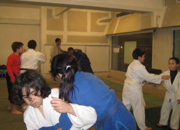 Judokas de C.A.Peñarol que participarán de la Exhibición.