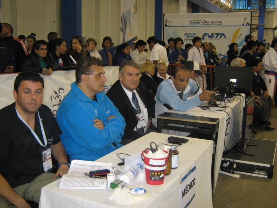 Dr.Alejandro Verlasky, Mtro.Anibal Janeiro,Mtro.Vicente Nogueloles y Mtro.Ariel Zoratti.