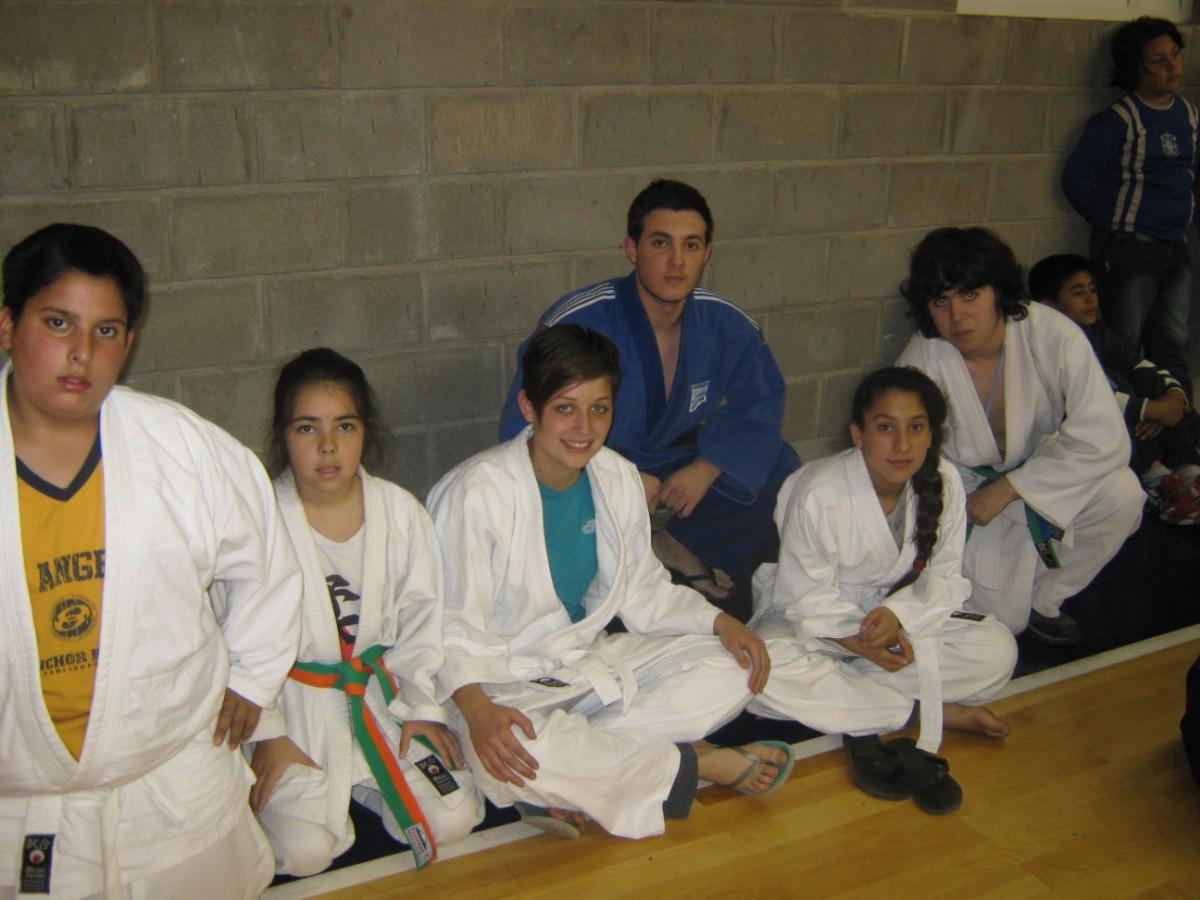 F.Mazza, A.Martínez Suárez, V.Salvatierra, K. Juri ,M. Mazza y S.Saracino.