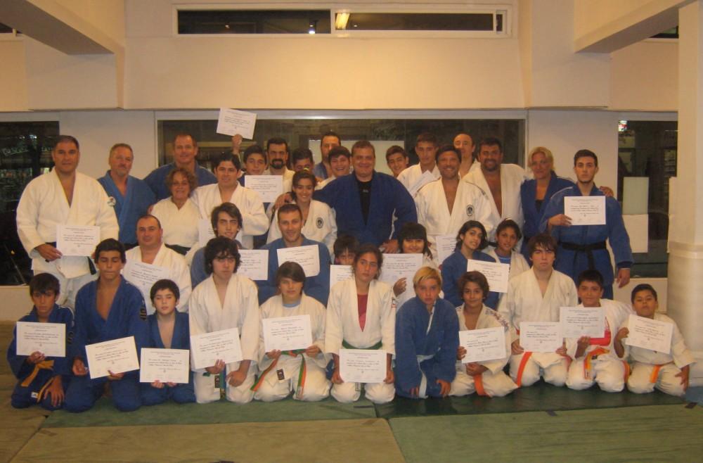 Participantes de la 2da. Master Class en Club Peñarol