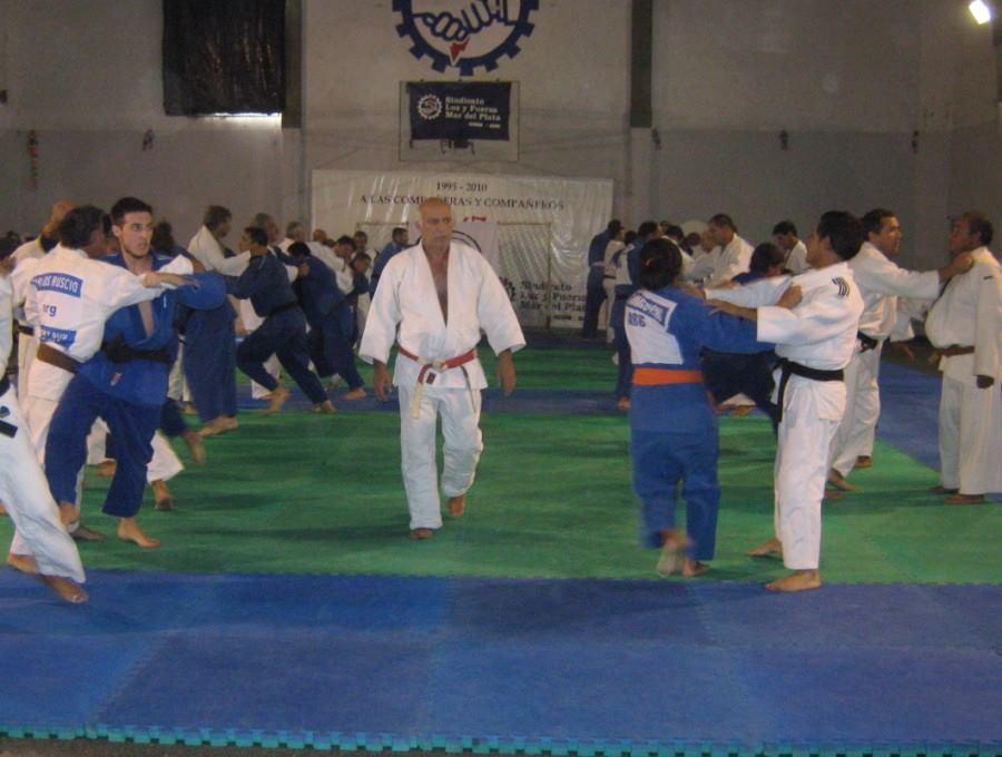 El Maestro Carlos Denegri a cargo del entrenamiento