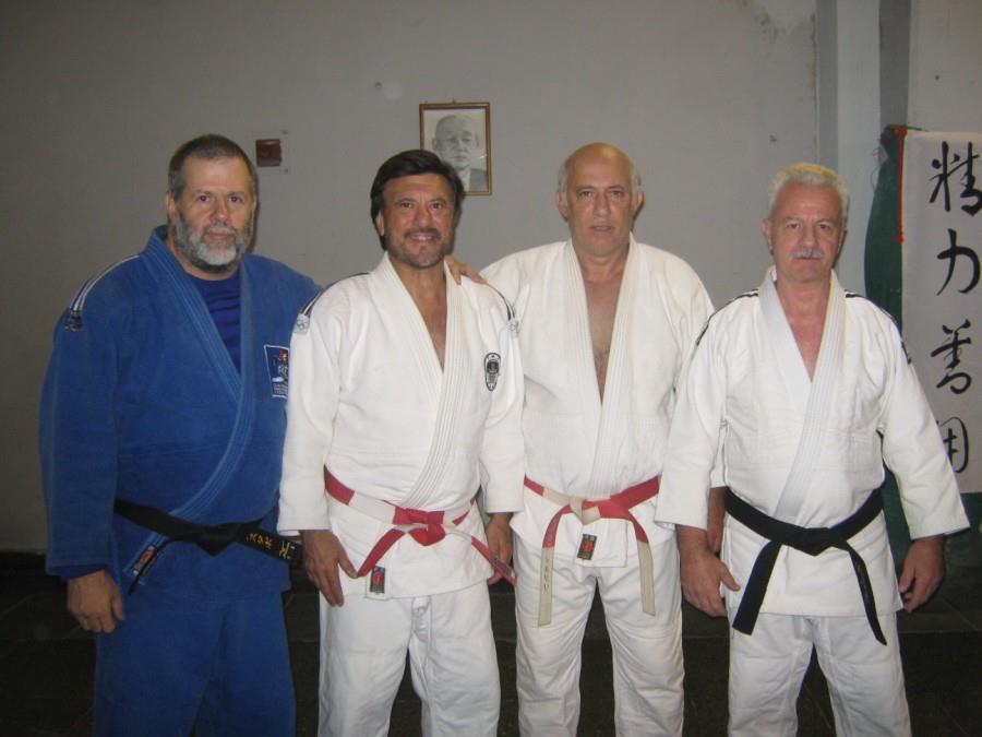 Gustavo Valle, Jorge Juri, Carlos Denegri y Miguel Angel Calculli.