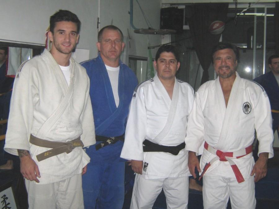 Inst.Matías Etchechury, Prof.Leonardo Etchechury, Prof.Javier Martín y el Mtro.Jorge Juri .