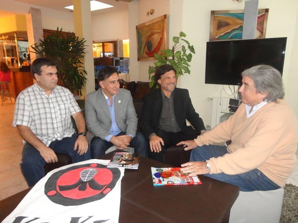 José Parisi, Alejandro Yapuncic , Jorge Juri y Roberto Lambert.