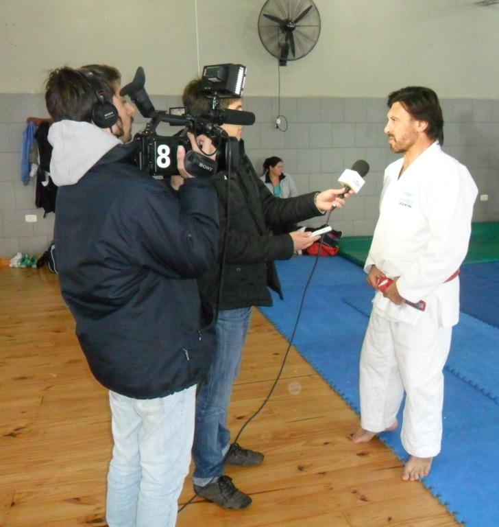 Nota al Mtro.Jorge Juri para la Televisión