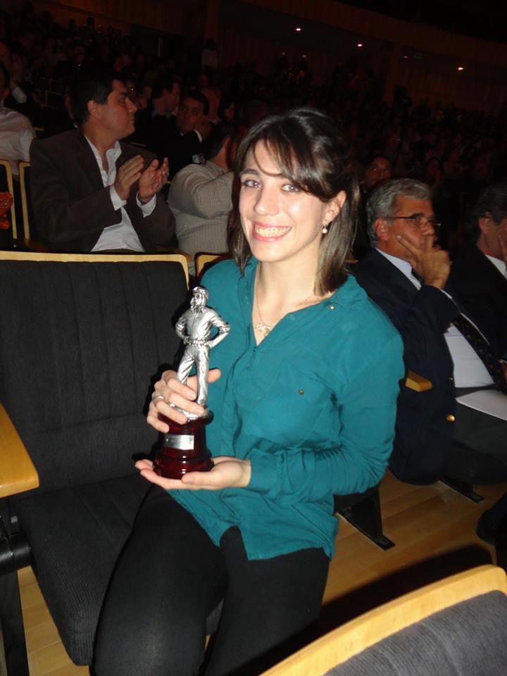 Premio Jorge Newbery 2013 en Judo ABI CARDOZO.