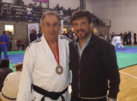 Campeones Master M7 -  81 Kg    y M6 - 66 Kg Jorge Juri