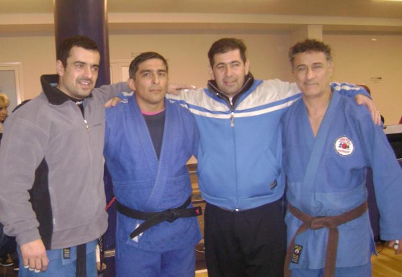 Master Veteranos posan para la Foto A.Lobos, M.Albornoz, D.Arregui , C.Ruscio