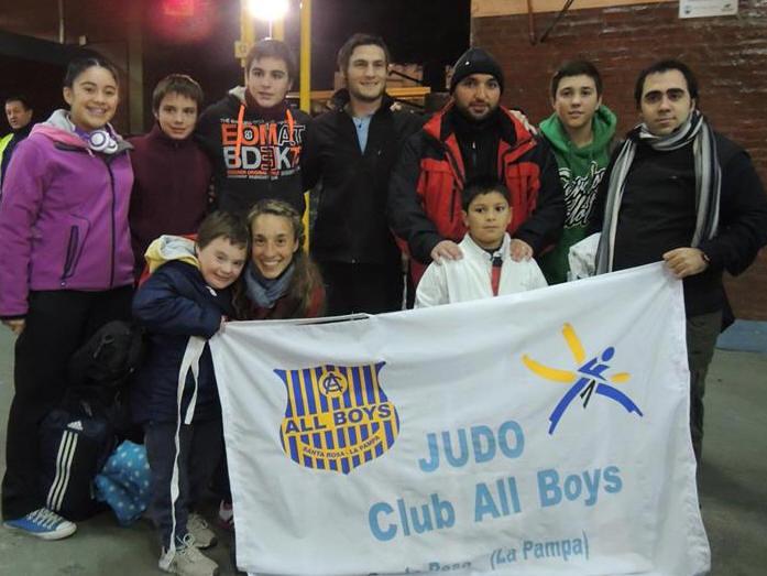 Judokas de All Boys de Santa Rosa La Pampa (ARAJ - Metropolitana)