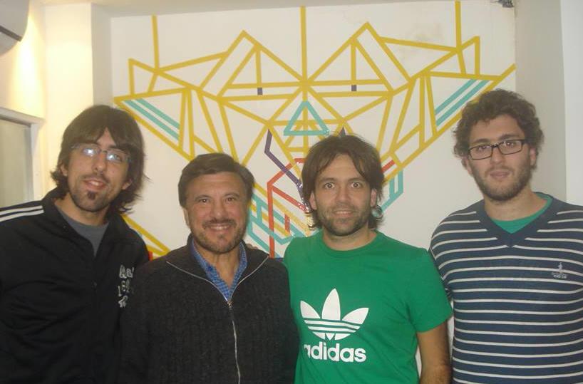 """""""El Templo de Momo """", Jorge Juri , Sebastián Ciano y Agustín Matías Casa en Radio Vorterix."""