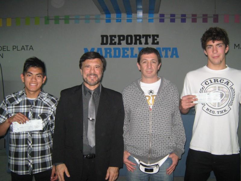 Abel García, Jorge Juri, Pedro Cambiaso y Cristian Hormman .
