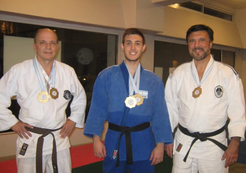 Juan José Ramuno, Kevin Juri , Jorge Juri